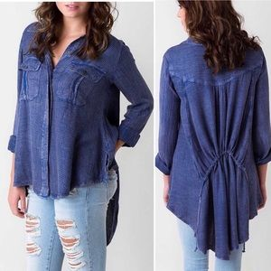 FREE PEOPLE | Feel It Around Button Down Shirt